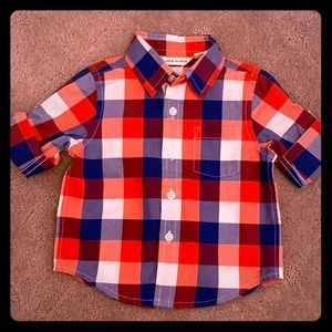 Baby Boys button up front shirt